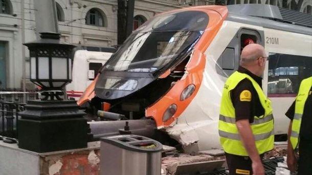 Авария в Барселоне