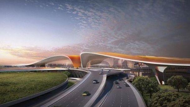 Будущий аэропорт в Пекине