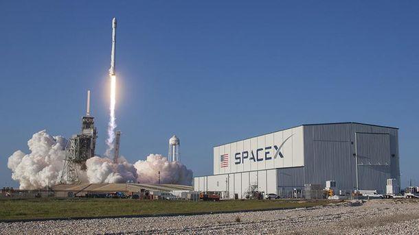 Запуск ракеты компанией SpaceX