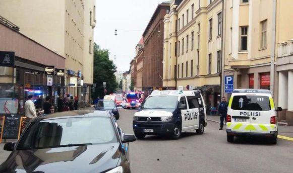 Автівка в'їхала у натовп у Гельсінкі