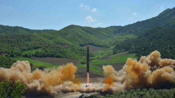 КНДР знову повела запуск ракети