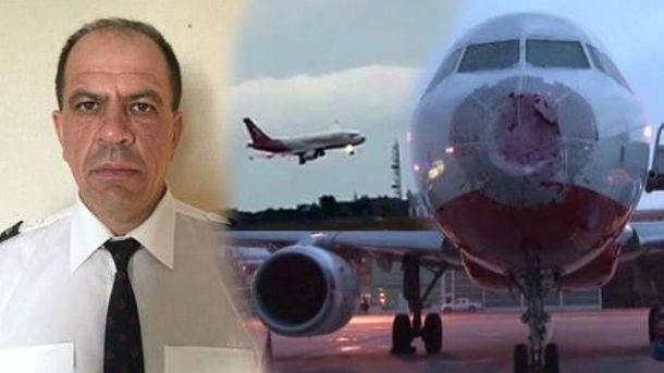 Український пілот, який посадив пошкоджений літак вСтамбулі, отримав нагороду «Замужність»