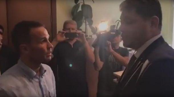 Руководитель Миграционной службы не продемонстрировал активистам письмо ГПУ оСаакашвили