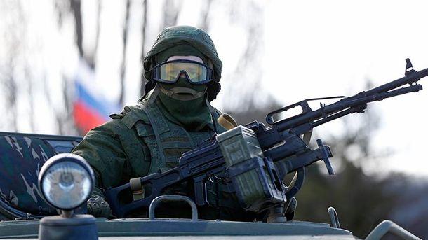 Российские военные на Донбассе (Иллюстрация)