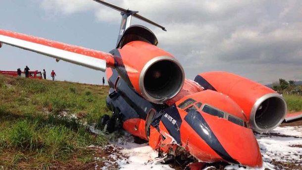 Ан-74 потерпел крушение