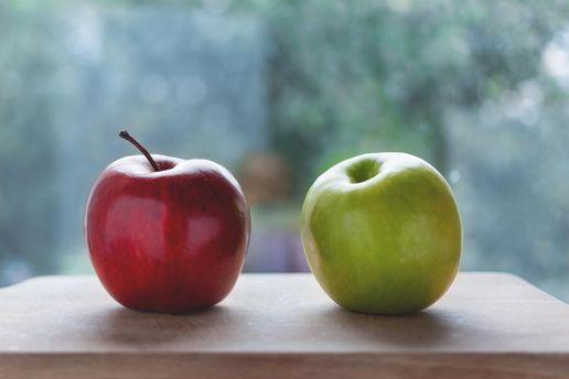 Яблоки предотвращают преждевременное старение