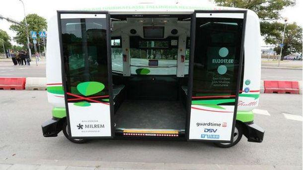 Беспилотные автобусы в Эстонии