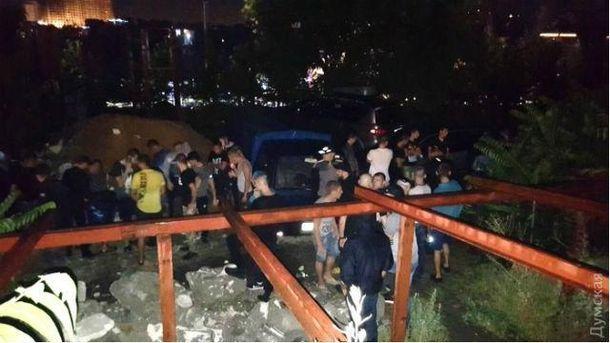Столкновение в Одессе