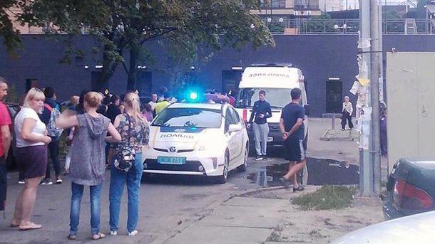 На месте происшествия работал патруль полиции