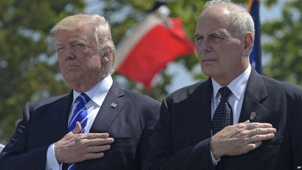Дональд Трамп і Джон Келлі: чи врятує президента США новий глава апарату Білого дому?