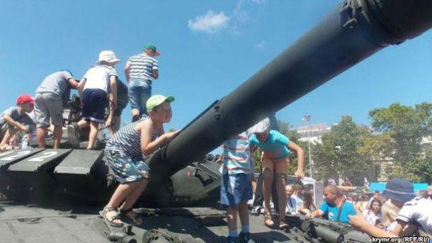 Российская военная техника в Крыму
