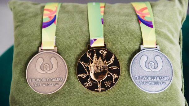 Украинцы везут 25 медалей Всемирных игр-2017