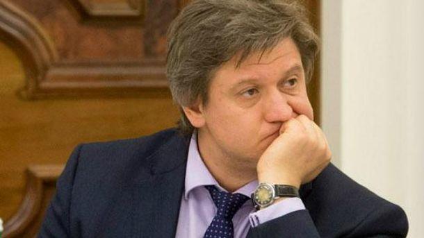 ГПУ заподозрила Минфина Данилюка вуклонении отуплаты налогов