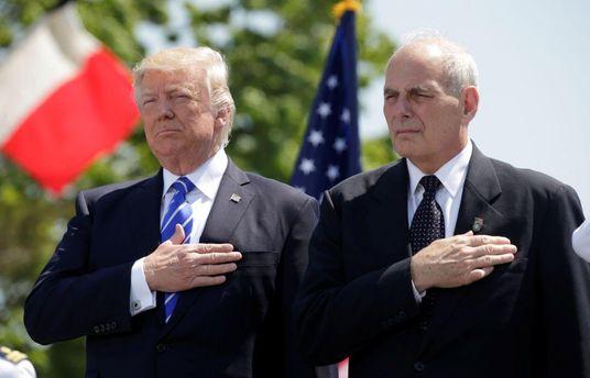 Трамп назначил генерала Джона Келли главой администрации Белого дома