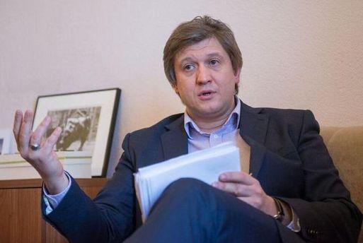 Міністр фінансів Данилюк вважає, щосправу проти нього активно проштовхують