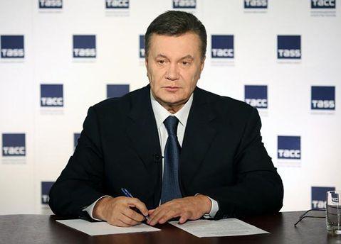 Янукович під час Майдану писав листи іноземним міністрам