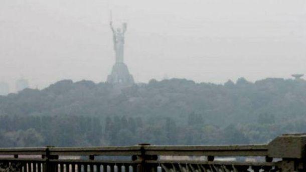 Сильна спека вКиєві: Уокремих місцях рівень забруднення повітря перевищив норму