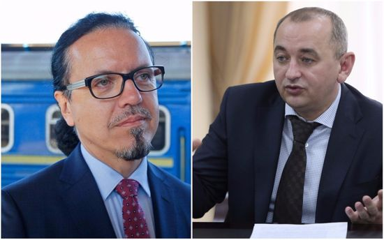 Анатолій Матіос та Войцехо Балчун