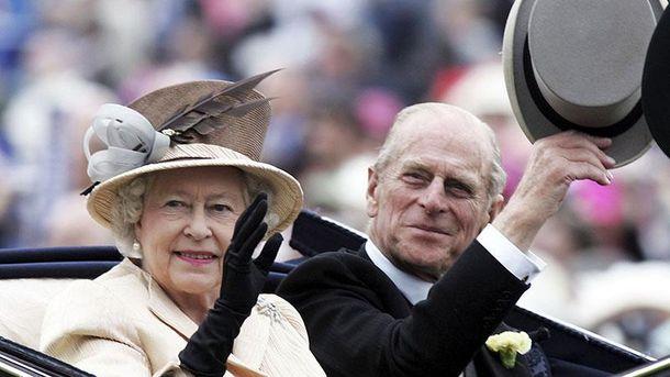 Чоловік королеви Британії принц Філіп пішов напенсію