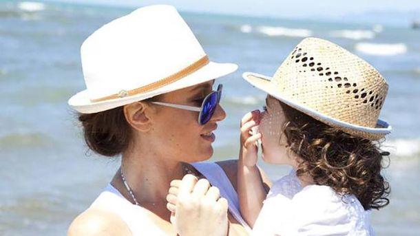 Ірина Бережна разом з донькою Даніеллою