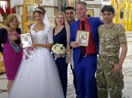 В Донецьку одружилися місцева жителька та журналіст-пропагандист Патрік Ланкастер