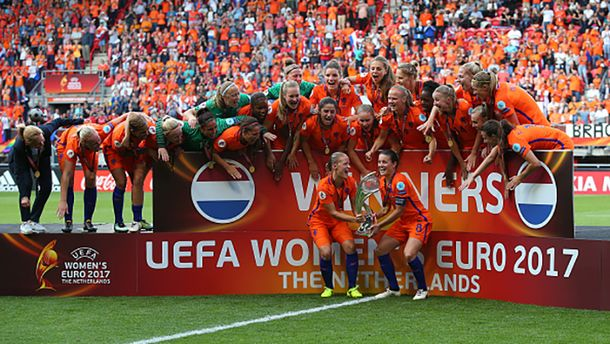 Жіноча збірна Нідерландів – переможці Євро-2017