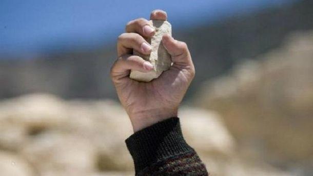 Человек бросал в людей камнями на улицах Житомира