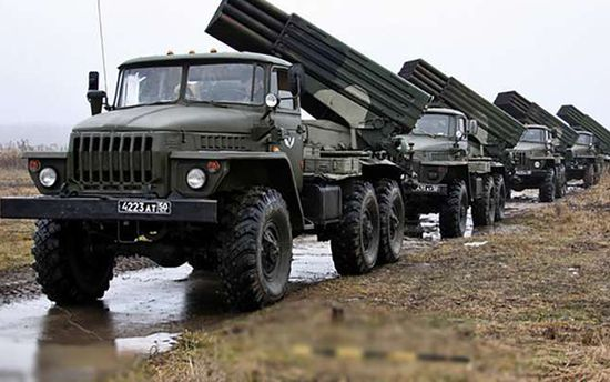 Боевики в Донбассе получили от России немало боеприпасов и техники