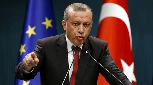 Эрдоган обвинил Германию в