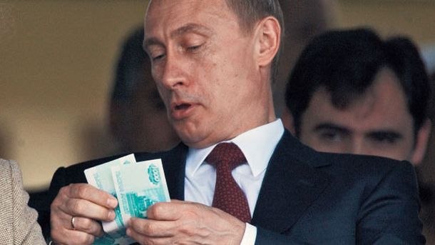 Бажання Росії жорстко відповісти на санкції показали у карикатурі