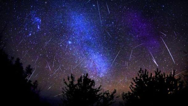 Украинцы увидят метеоритный дождь Персеиды