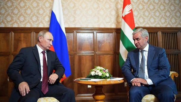 УНАТО відреагували навояж Путіна доневизнаної Абхазії