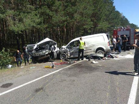 Аварія на Сарнинщині