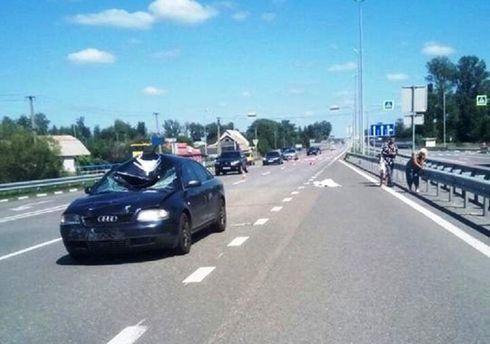 На Киевщине погиб велосипедист
