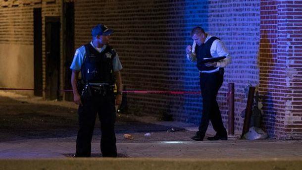 В Чикаго неизвестные отрыли огонь по толпе