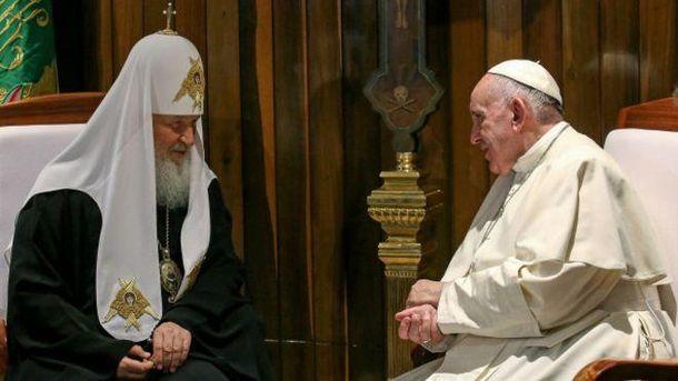 У Ватикані готуються до зустрічі Папи Римського і патріарха Кирила у Москві