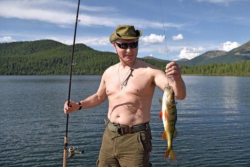 Путин-рыбак