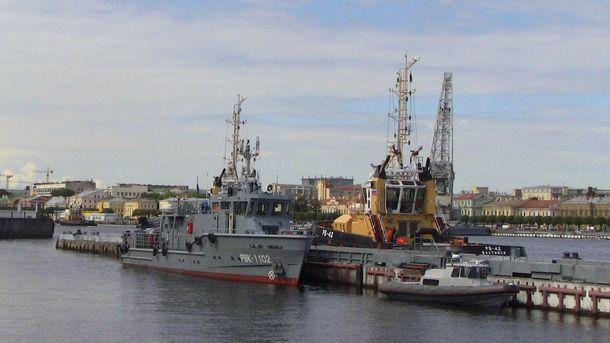 Российские военные корабли приблизились к Латвии