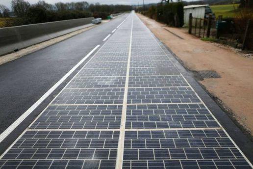 Дорога из солнечных панелей
