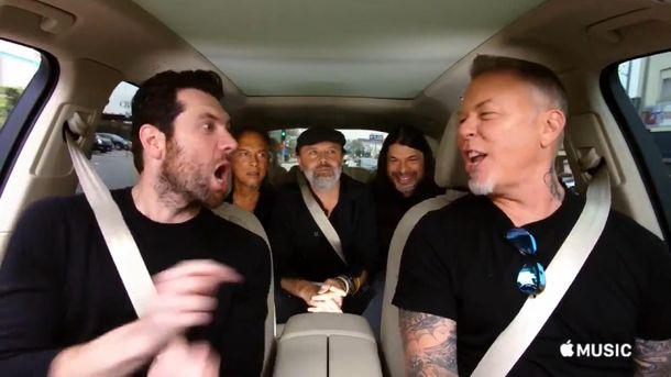 Metallica заспівали пісню Ріанни
