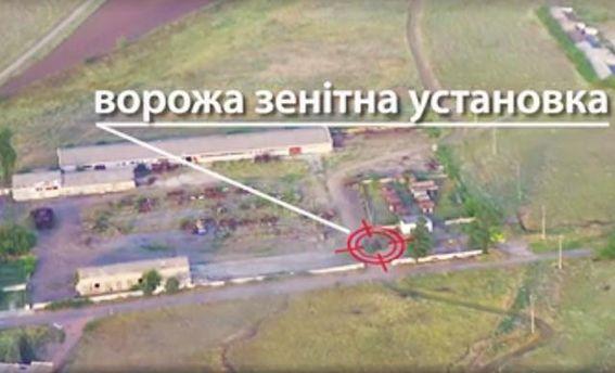 Сили АТО вдарили з дрона по техніці бойовиків