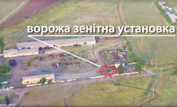 Силы АТО ударили с дрона по технике боевиков