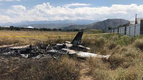 Украинский пилот разбился на самолете в Казахстане