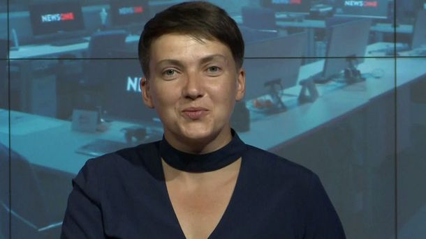 В сети смеются над новым платьем Савченко