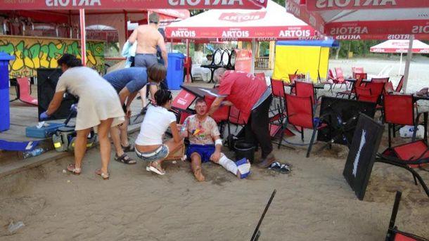 На пляже в Полтаве произошла перестрелка, есть жертвы, ранен ребенок