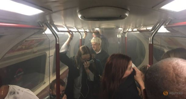 Пожежа в метро