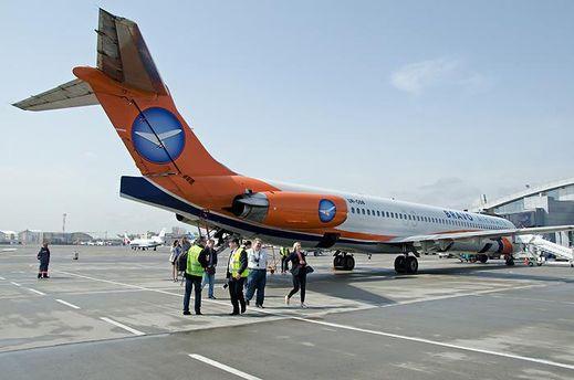 Самолет авиакомпании Bravo Airways