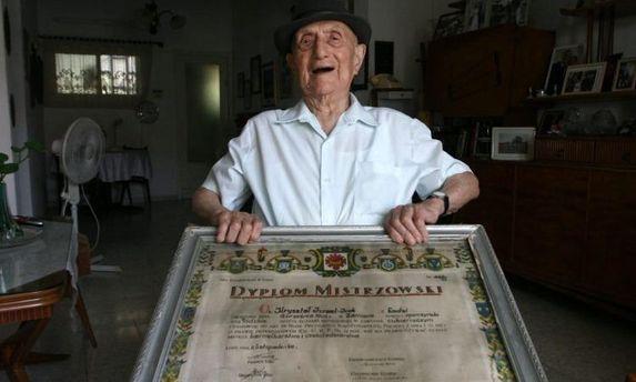 Исраэль Криштал умер в 113 лет