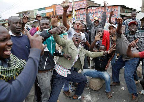Протесты в Кении