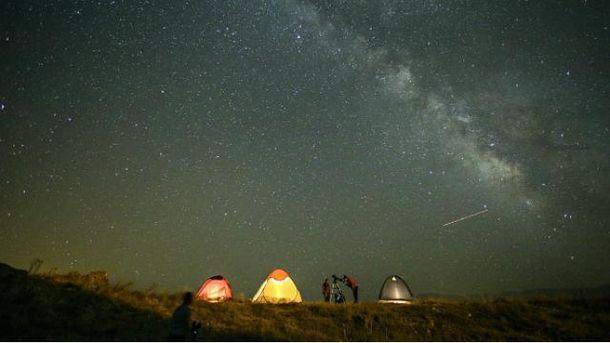 Метеоритний потік Персеїди пролетить над Землею в ніч на 13 серпня